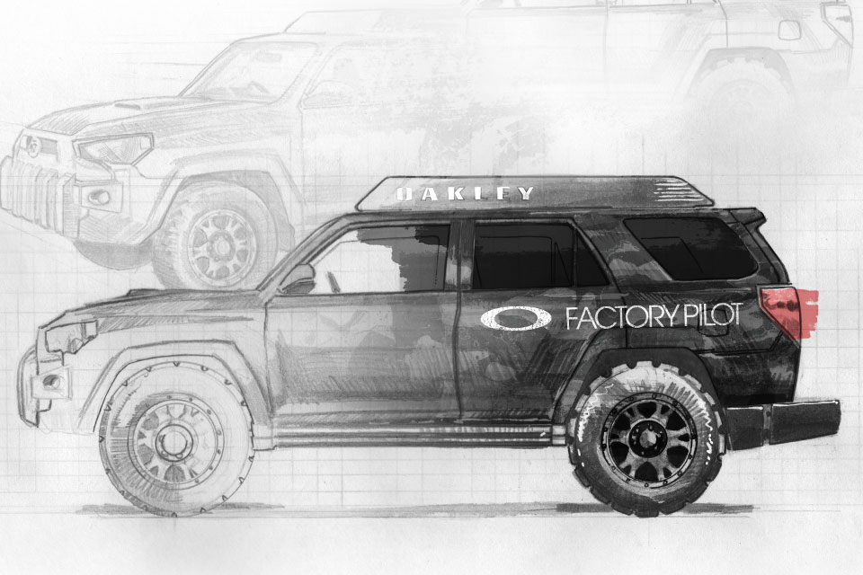 Oakley SEMA Truck